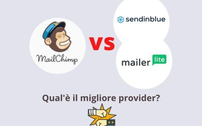 Confronti e differenze: Mailchimp vs Sendinblue vs Mailerlite